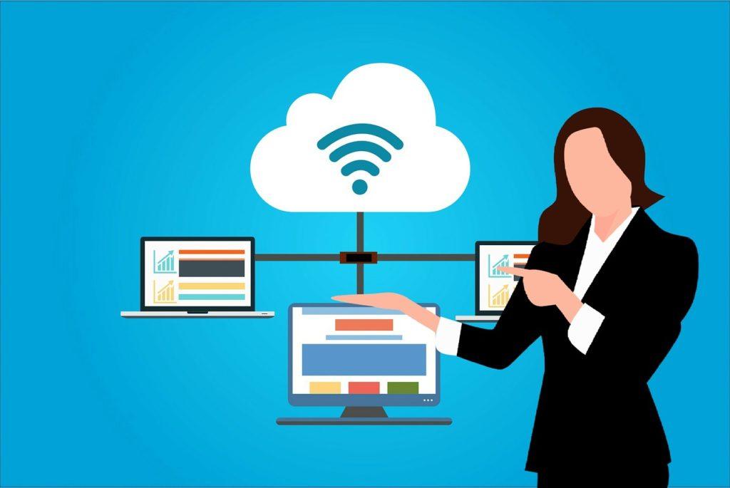 מחשבים מחוברים לענן